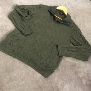Croft and borrow dark green sweater !